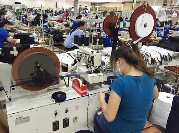 ベトナム生産工場(VIETNAM FACTORY)イメージ