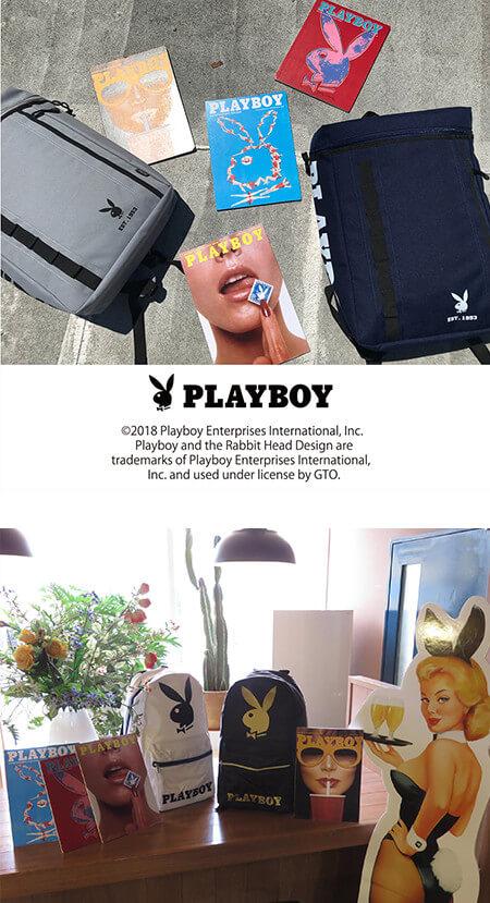 ライセンスブランド/PLAYBOY(プレイボーイ)イメージ